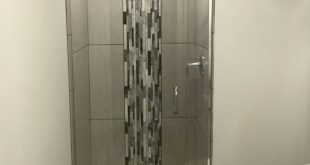 How to overcome your boring builders-grade white shower stall