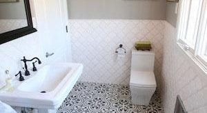 Installation Equation: 4 Great Granada Tile Cement Tile Small Bathrooms