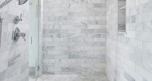 Interior #pic of the shower in the master #bath posted earlier this week. The Jo...