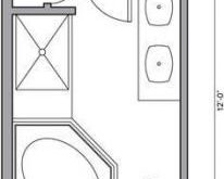 68+ ideas for bath room floor plans walk in shower benches