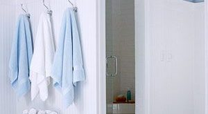 Bathroom Tour: Blue & White Cottage Style