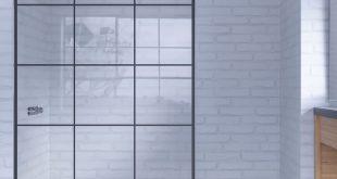 Doccia Nazca Walk-In Dusche Industrial Look Duschwand alleinstehend | Duschmeist...