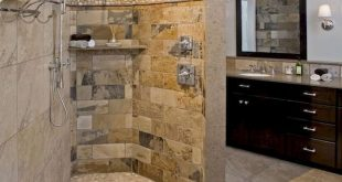 50 Fantastic Walk In Shower No Door for Bathroom Ideas (4