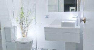 27+ Beste Designideen für kleine Badezimmer, die sich durch ... - Kleines Badez...