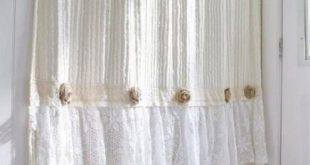 33+ Ideas bathroom farmhouse shower curtain shabby chic for 2019