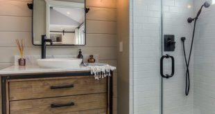 9 Die besten Ideen für rustikales Badezimmerdesign und Dekoration #bathroombarn...