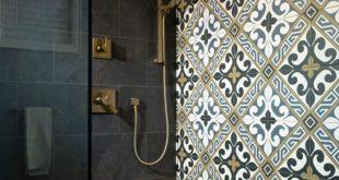 Accent walls aren't just designed for paint. Designer Benjamin John Ouellette ...