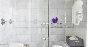 Beautiful Bathroom Showers - love the chrome bench/stool in the shower #schlafzi...