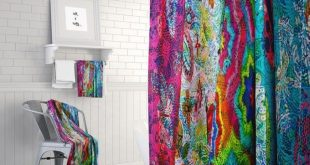 Boho Chic Shower Curtain ,Gypsy Spirit