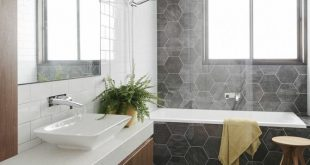 Our ensuite is a walk through wet area with inbuilt bathtub (possibly spa) hoble...