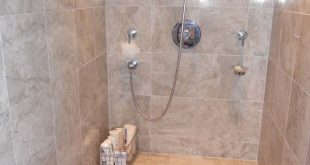 Previous Pinner said it best: Bathroom sit down shower yes DH has suggested a 2...