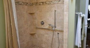 Shower 10 Ideas About Walk-in Shower With Seat & Without Seat [Elderly Friendly]...
