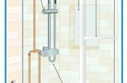 Shower Stall Plumbing Diagram