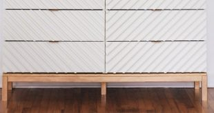 Transform a Humble Ikea Dresser Into a Gorgeous Bedroom Piece #IkeaNursery #Tarv...